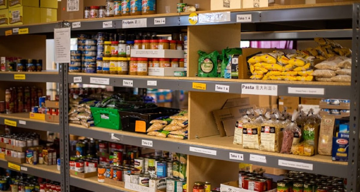 JOINT LIBRARY-FOOD PANTRY OPENS IN EASTERN INDEPENDENCE